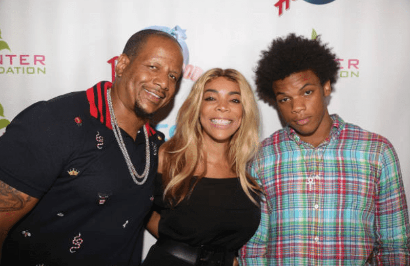 Kevin Hunter, Wendy Williams and their son, Kevin Hunter Jr attend The Hunter Foundation Charity event, at Planet Hollywood Times Square, on July 11, 2017, New York | Source: Getty Images (Photo by Bruce Glikas/Bruce Glikas/Getty Images)