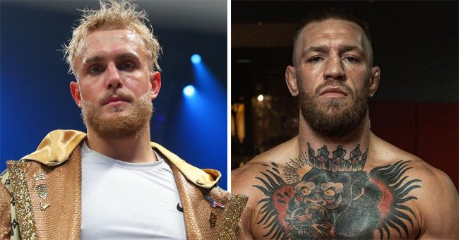 Boxer Jake Paul on the left and UFC fighter Conor McGregor on the right | Photo: Rich Graessle/Icon Sportswire via Getty Images + Instagram.com/thenotoriousmma