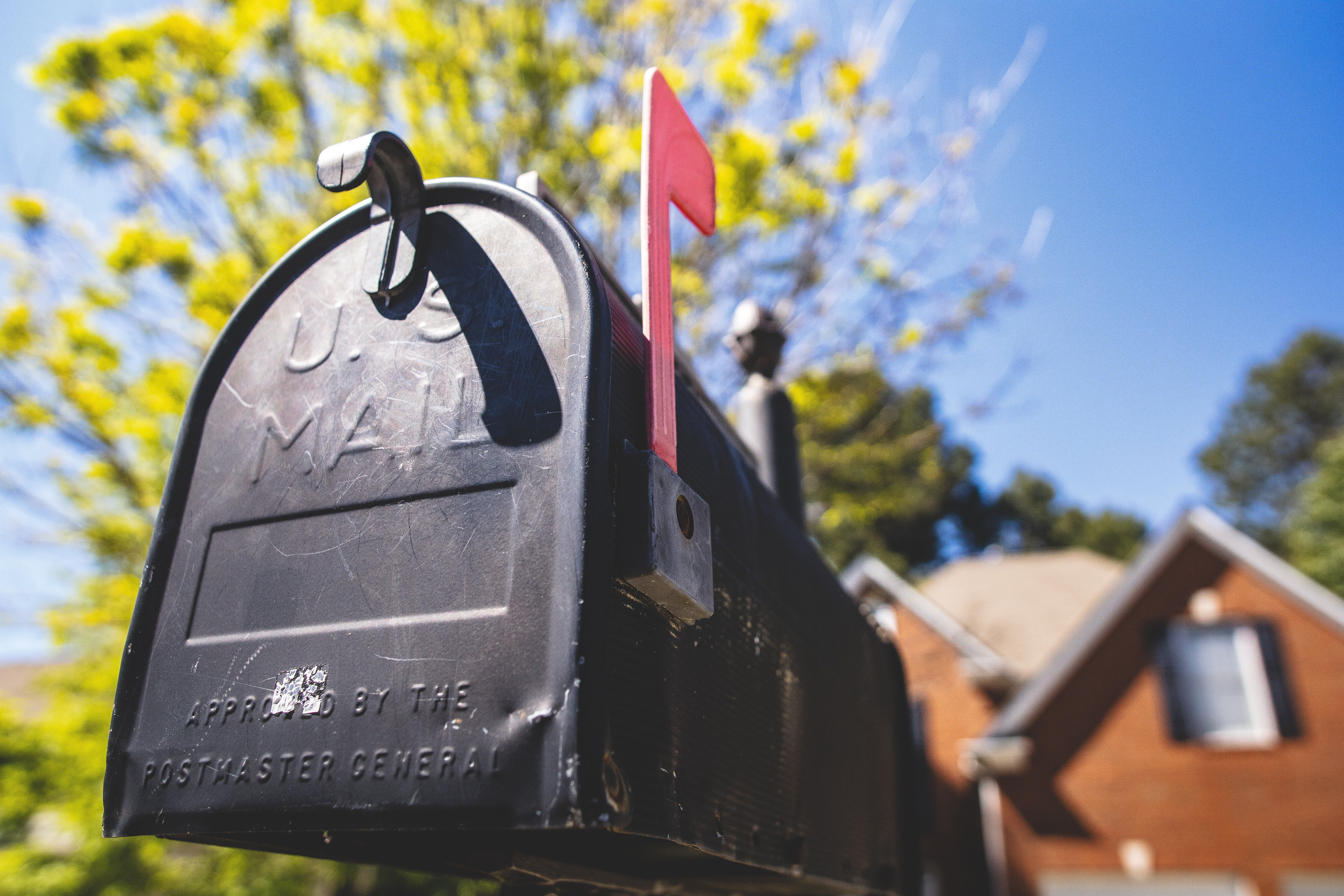 A mailbox. | Source: Pexels