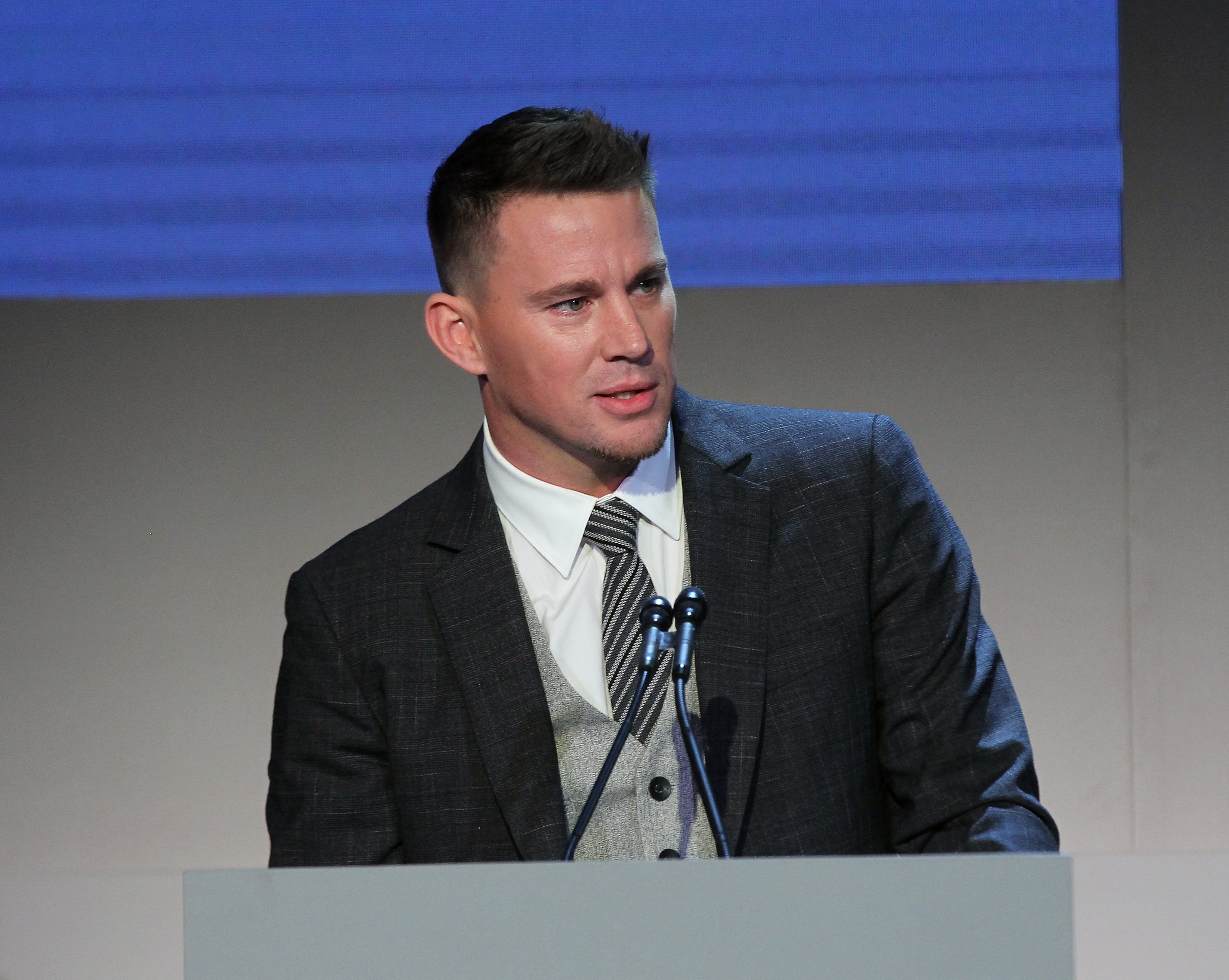 Channing Tatum speaks at the Innovator Awards in New York City on November 7, 2018 | Photo: Getty Images