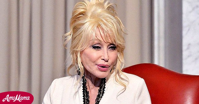 Singer Dolly Parton and her Imagination Library dontae the 100 millionth book to The Library of Congress on February 27, 2018 in Washington, DC.   Source: Getty Images