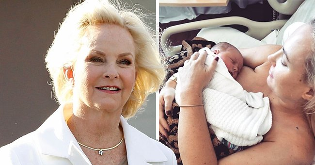 Meghan McCain Marks Her First Mother's Day with a Photo and Praises Mom Cindy