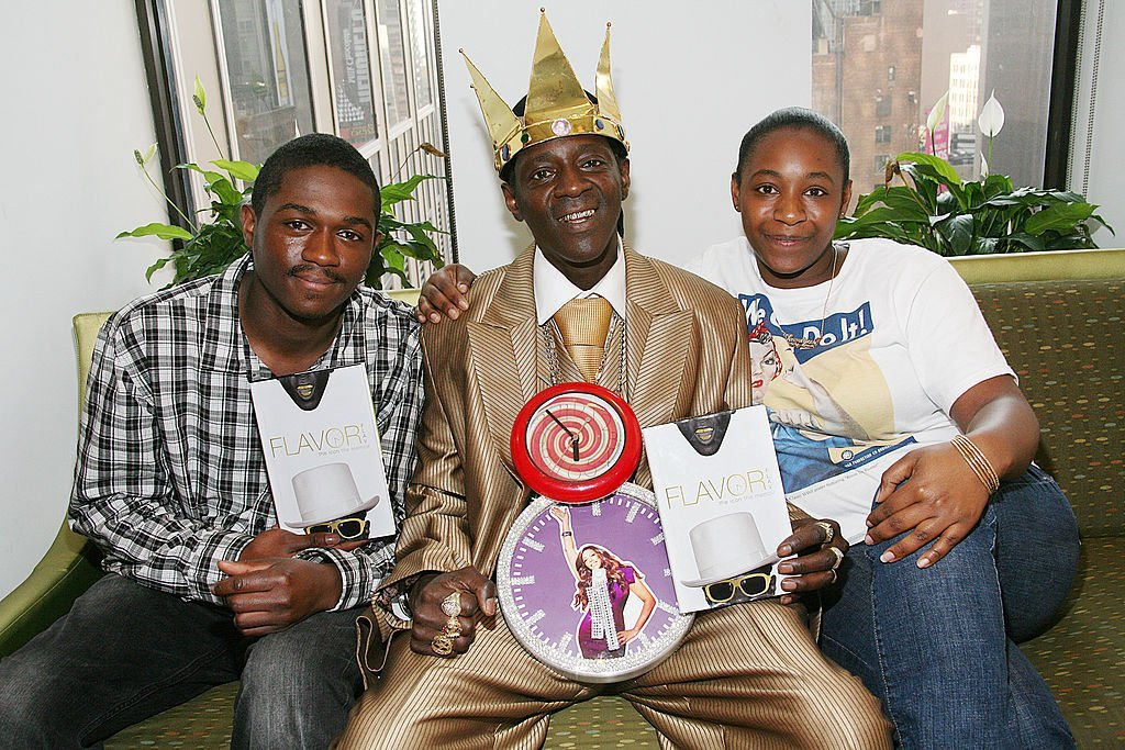 Flavor Flav and his children, William and Shonique in New York CIty in May 2011. | Photo: Getty Images
