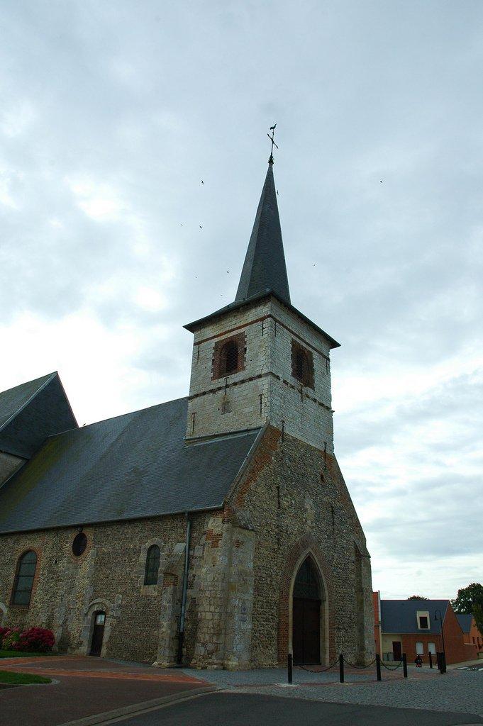 L'église de Feuquières. l Source Flickr