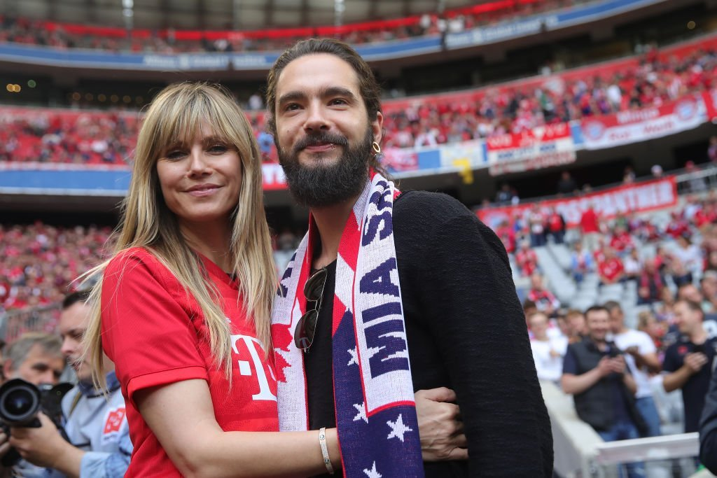 Heidi Klum and Tom Kaulitz, München, Deutschland, 2019 | Quelle: Getty Images