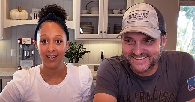 Tamera Mowry and Husband Adam Cook Together and Share Recipes in a Video