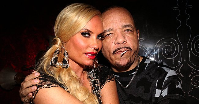 Coco Austin Looks Stunning in Tight Red Dress Celebrating Valentine's Day with Husband Ice-T