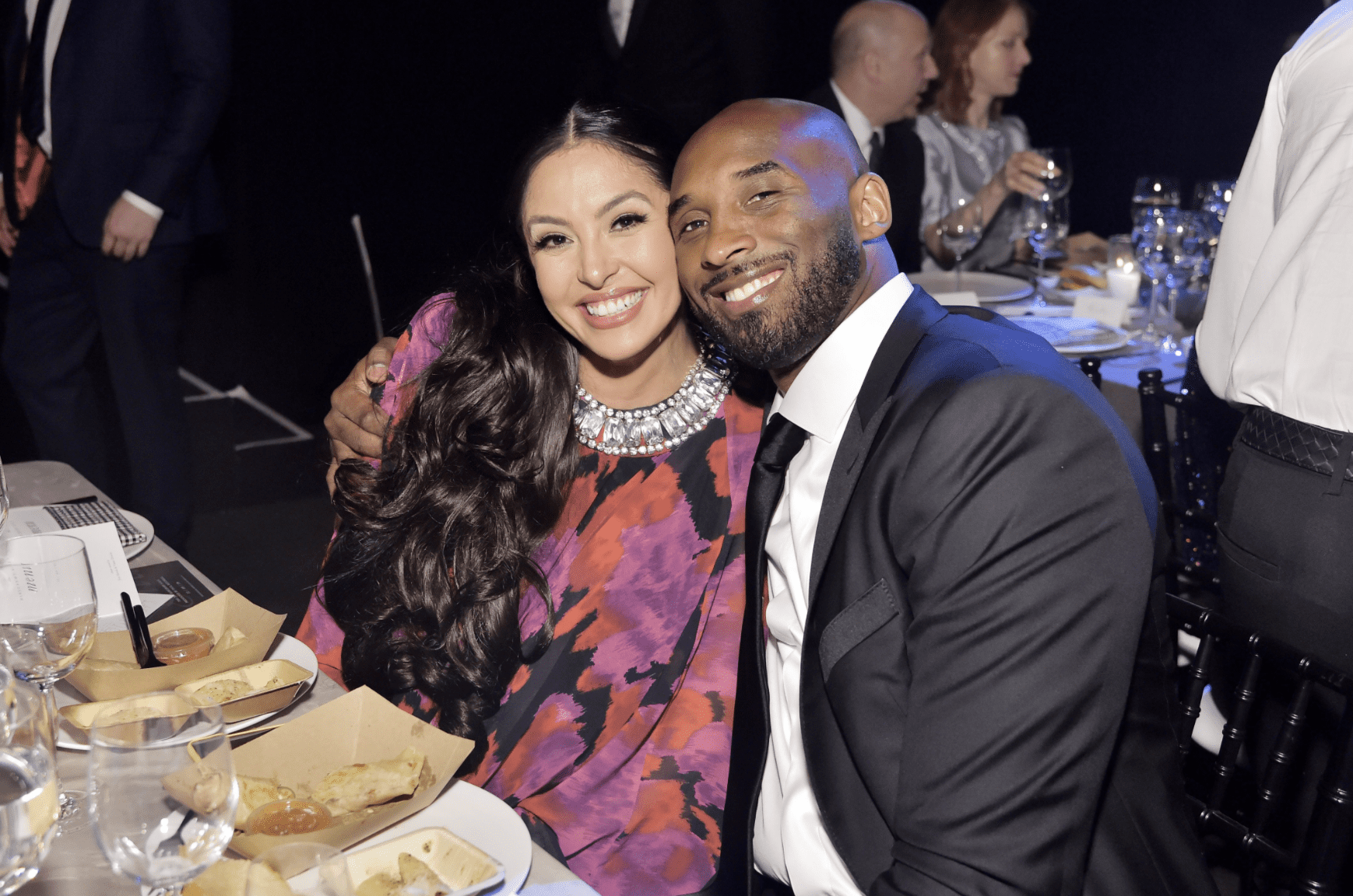 Vanessa Laine Bryant and Kobe Bryant attend the 2019 Baby2Baby Gala on November 09, 2019. | Source: Getty Images.