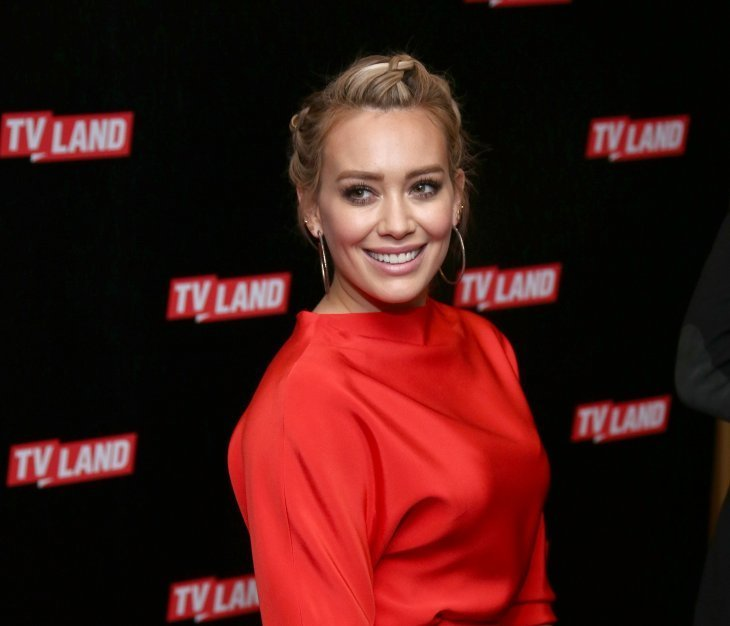 Hilary Duff  at the Viacom Kids and Family Group's 2016 TV Land & CMT Upfront on March 3, 2016 | Photo: Getty Images