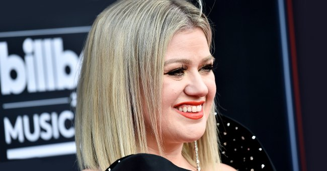 Singer Kelly Clarkson pictured at the 2018 Billboard Music Awards at MGM Grand Garden Arena, Las Vegas, Nevada.   Photo: Getty Images