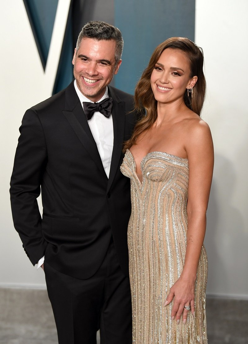 Cash Warren and Jessica Alba on February 09, 2020 in Beverly Hills, California | Photo: Getty Images
