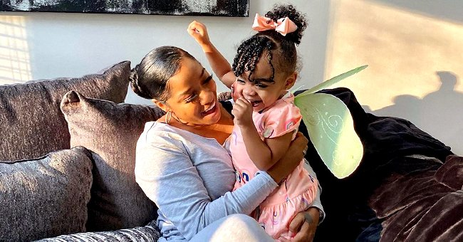 Toya Wright of 'Marriage Boot Camp' Shares New Photos of Daughter Reign in Pink Dress and Bow