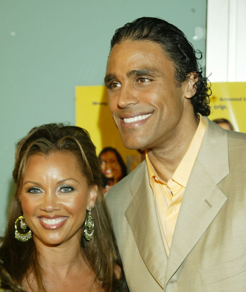 Vanessa Williams and Rick Fox at the Cinerama Dome on March 31, 2004 in Hollywood, California | Photo: Getty Images
