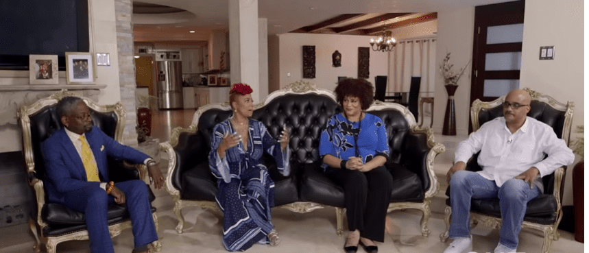 """Henton and former co-stars of the show discussing their take on """"Living Single"""" and the hurdles they had to jump in order to have the sitcom running at the time it did 