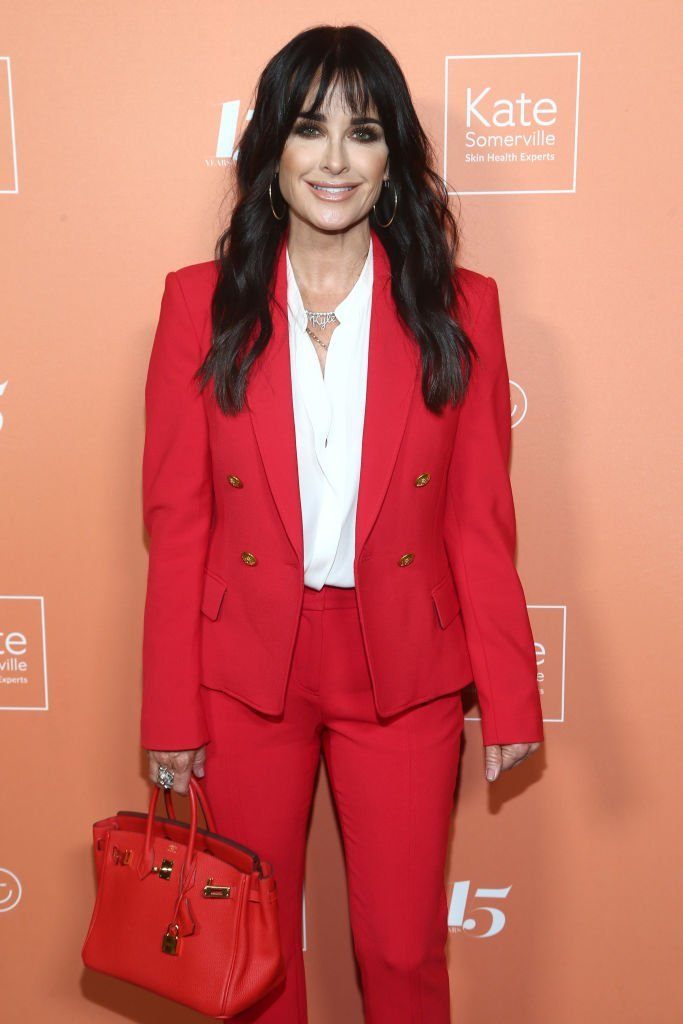 Kyle Richards attends The Kate Somerville Clinic's 15th Anniversary Party at The Kate Somerville Clinic on October 10, 2019 | Photo: Getty Images