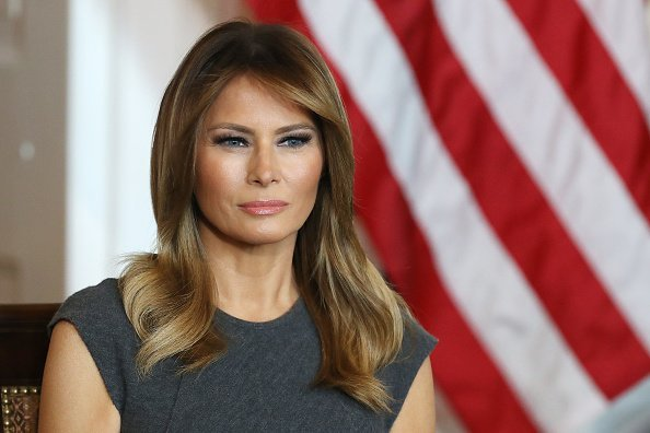 First Lady Melania Trump Meets With Teens To Discuss Youth Vaping | Photo: Getty Images