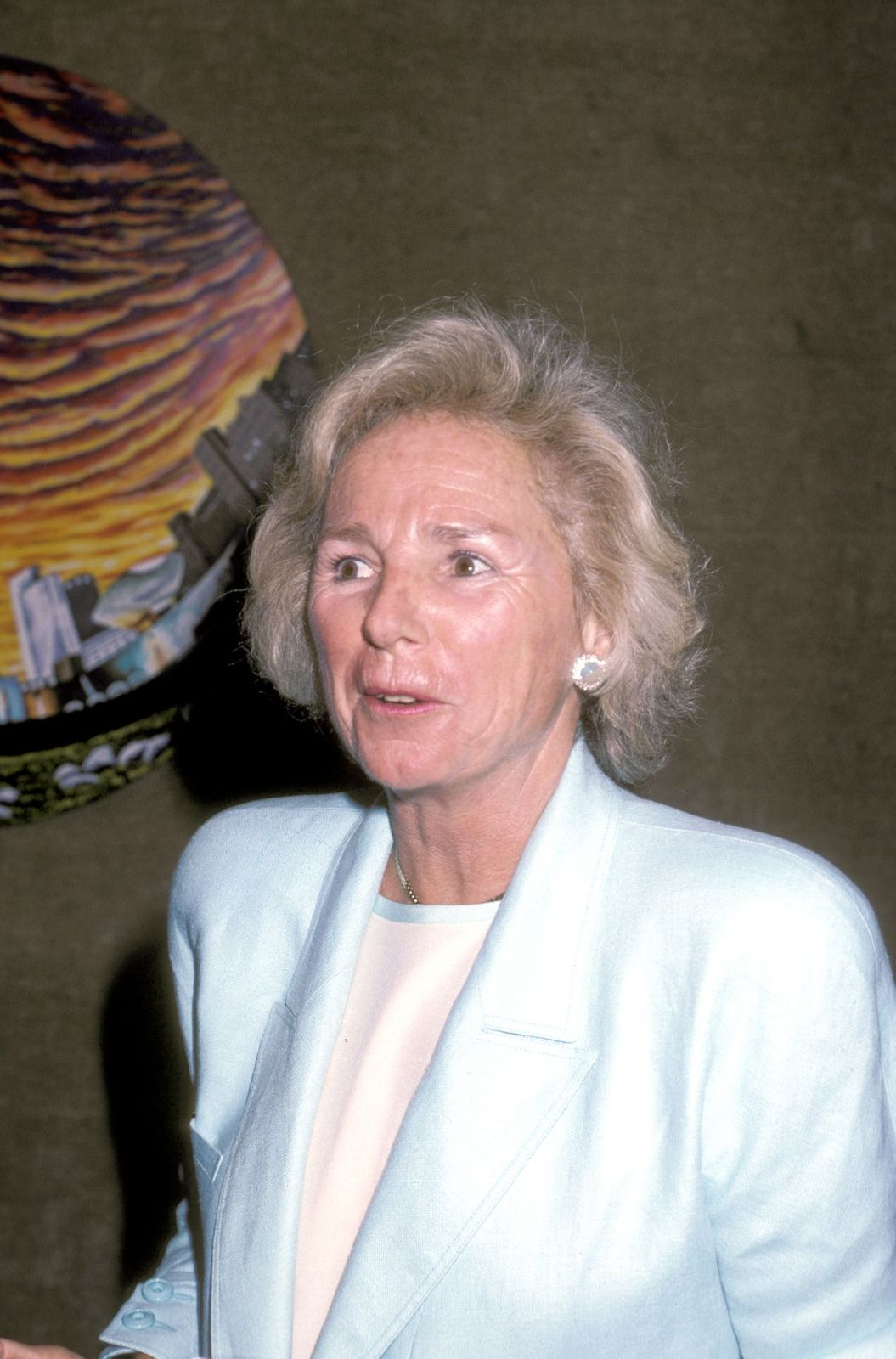 Ethel Kennedy during the First Public Exhibition and Benefit Auction of Art by Henry Fondain New York | Photo:Ron Galella/Ron Galella Collection/Getty Images