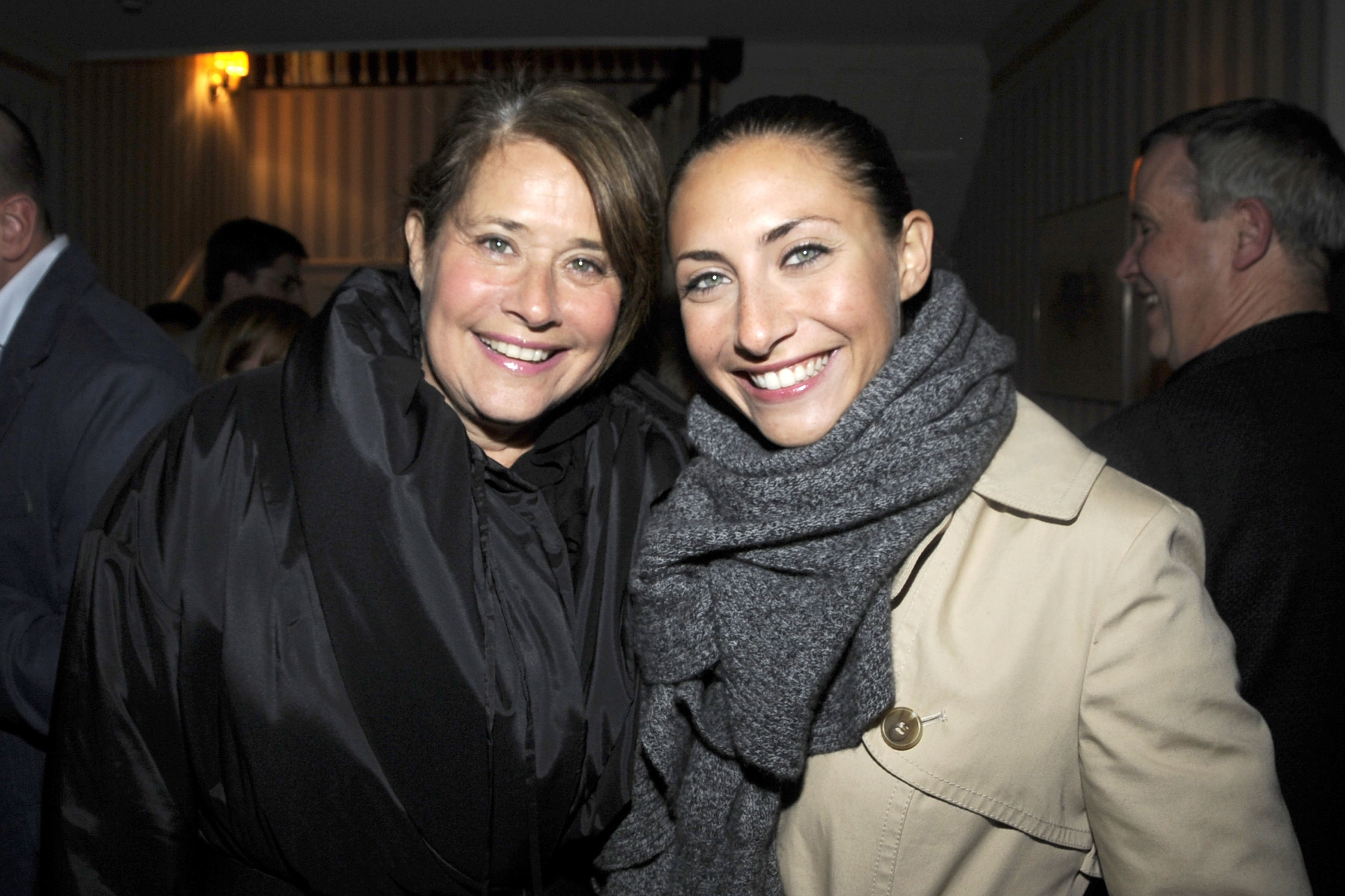 Lorraine Bracco and Stella Keitel attend HBO's GREY GARDENS Screening Dinner on April 11, 2009 in East Hampton, New York. |  Photo: Getty Images
