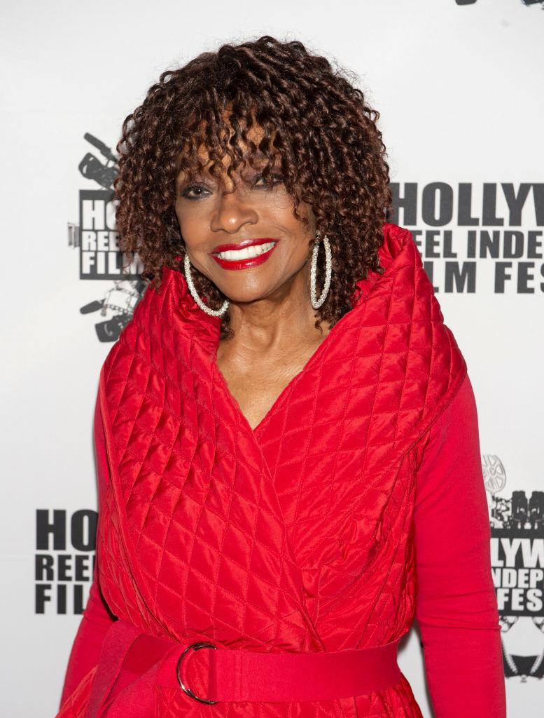"""Beverly Todd arrives at """"A Dark Foe"""" Film Premiere on February 15, 2020 