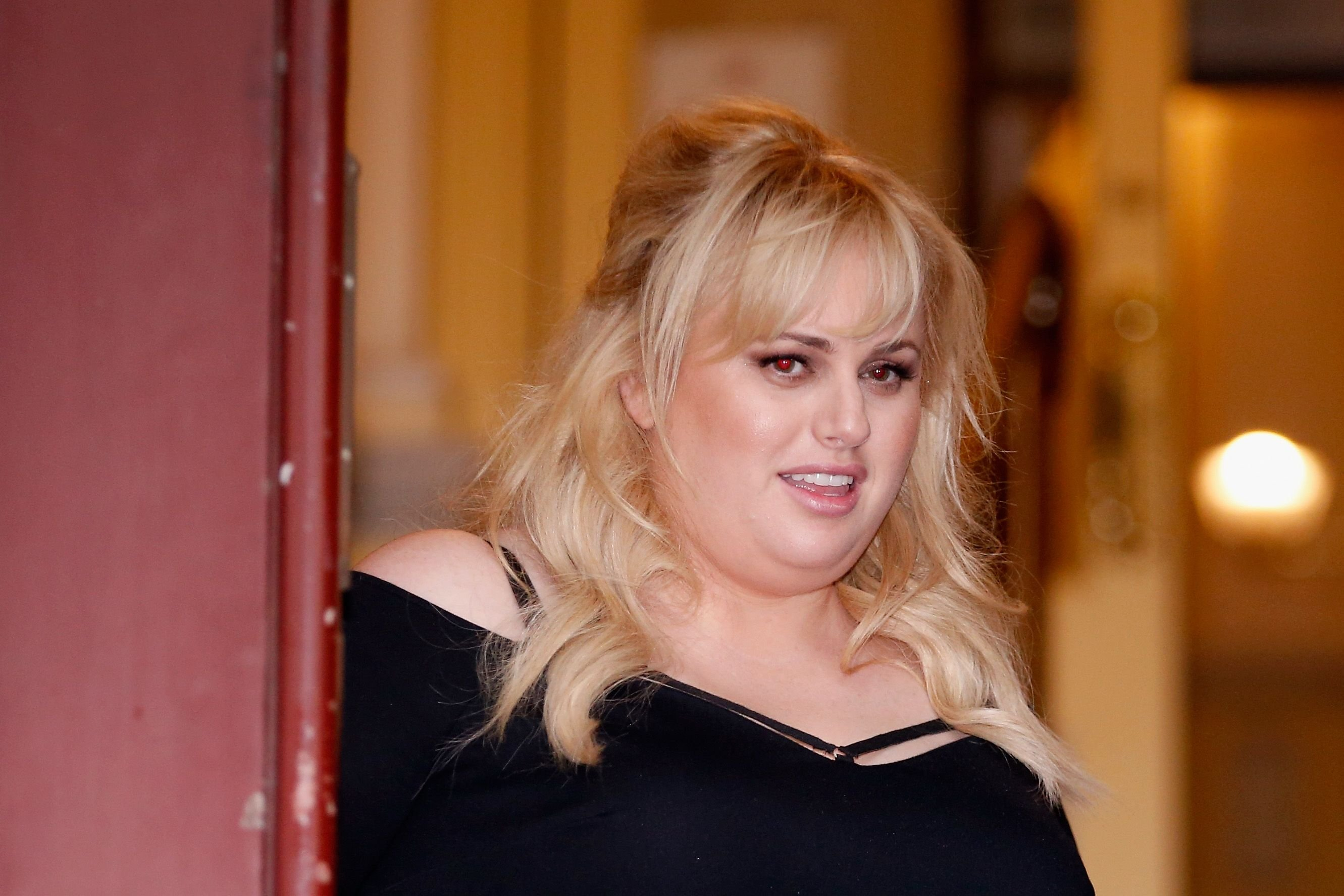Rebel Wilson outside the Court of Appeal on April 19, 2018 in Melbourne, Australia. | Source: Getty Images