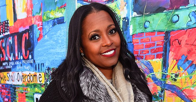 Keshia Knight Pulliam's Daughter Ella Is a Little Fashionista in Polka-Dot Pants & Handbag in Photos