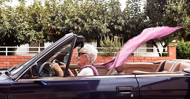 Daily Joke: Police Officer Stops an Elderly Woman for Speeding but Didn't Expect the Turn of Events