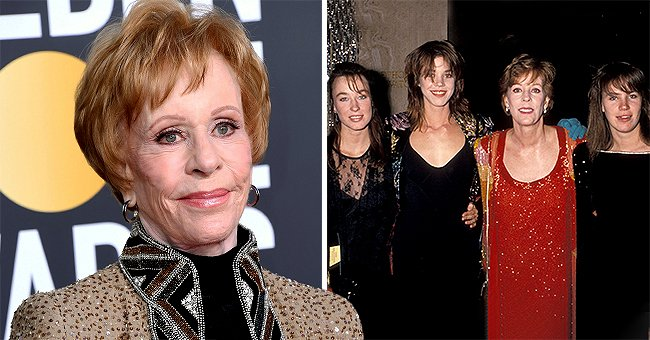 Carol Burnett's Youngest Daughter Died at Age 38 — Meet Her Other Daughters Jodie & Erin