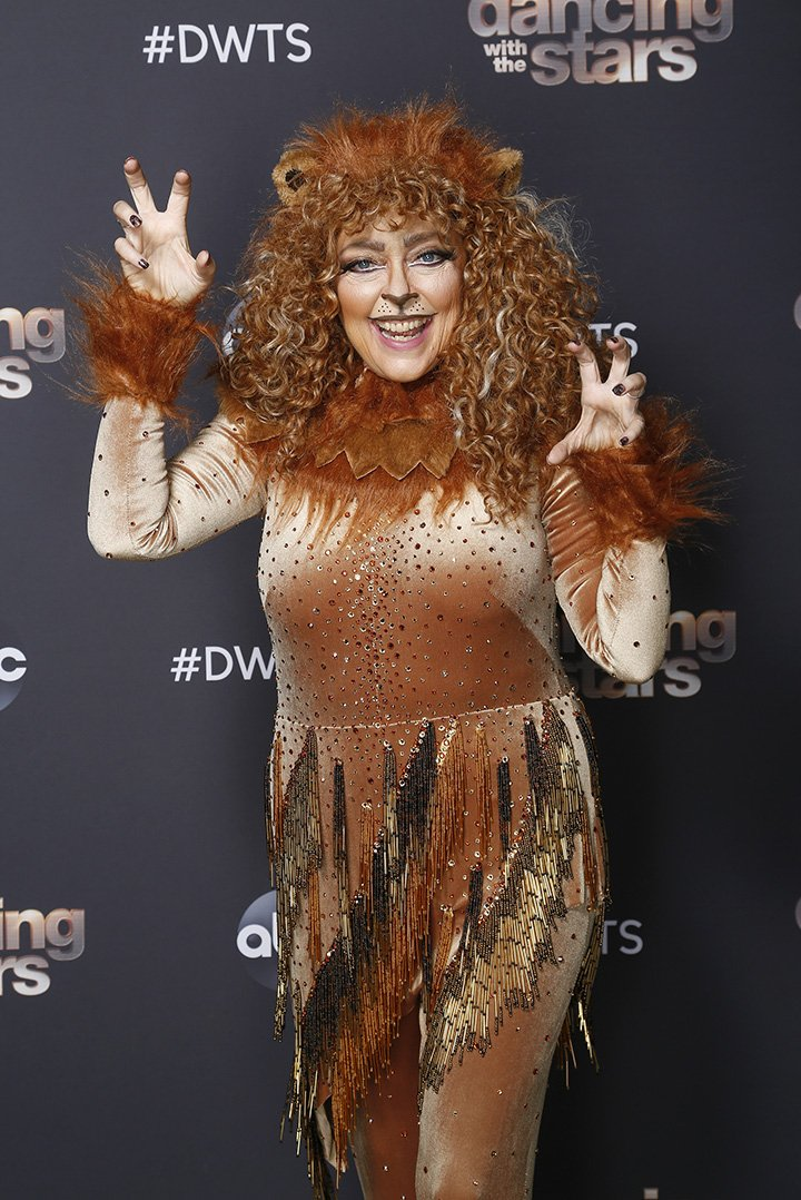 "Carole Baskin in costume for her ""The Lion King"" number on ""Dancing With The Stars"" in September 2020. I Image: Getty Images."