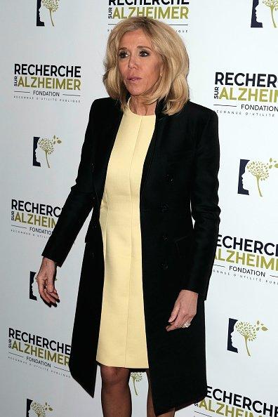 Brigitte Macron assiste au Gala de charité contre la maladie d'Alzheimer à l'Olympia | Photot : Getty Images