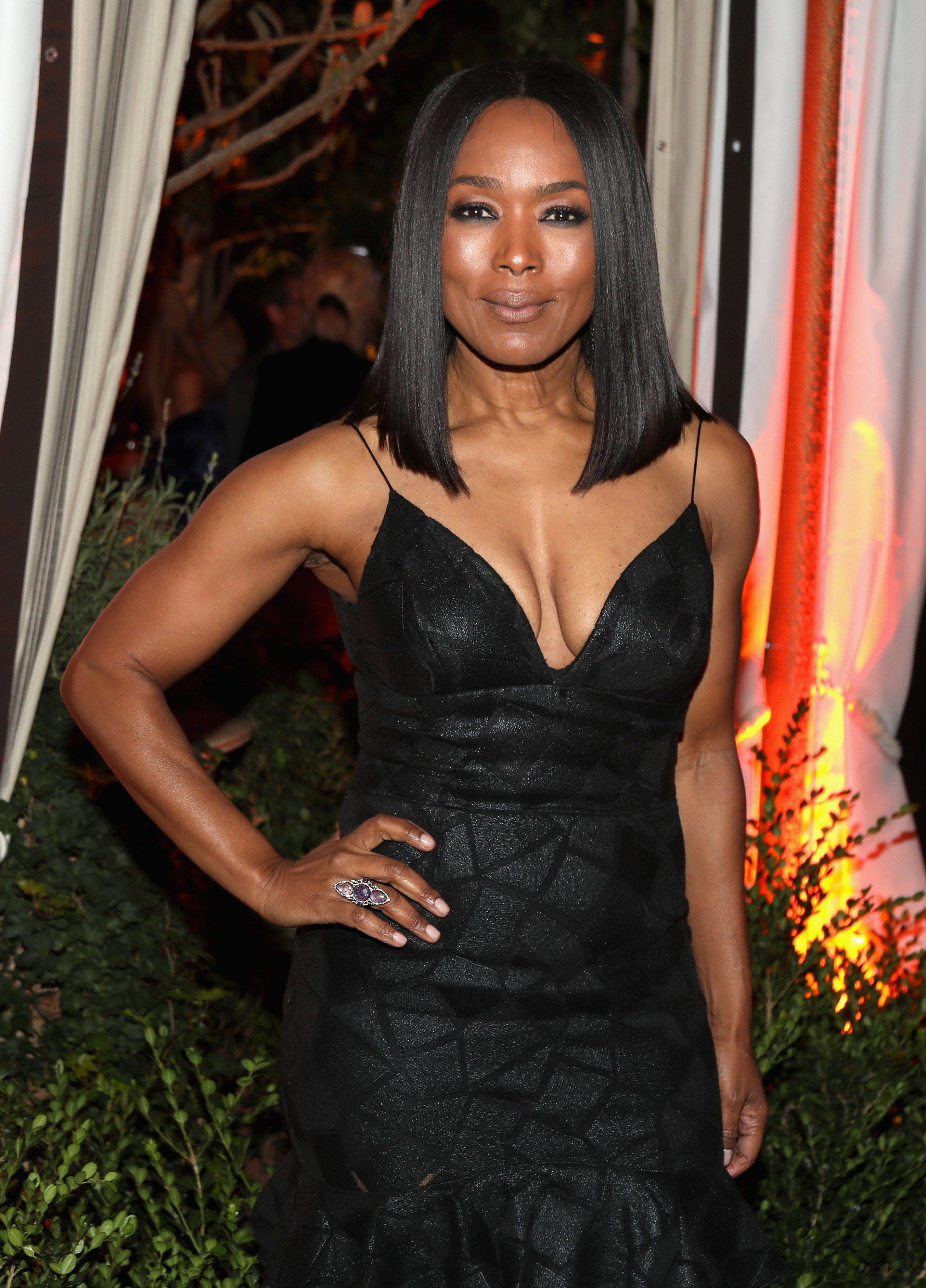 Angela Bassett at the LAND of distraction Launch Party on Nov. 30, 2017 in California | Photo: Getty Images