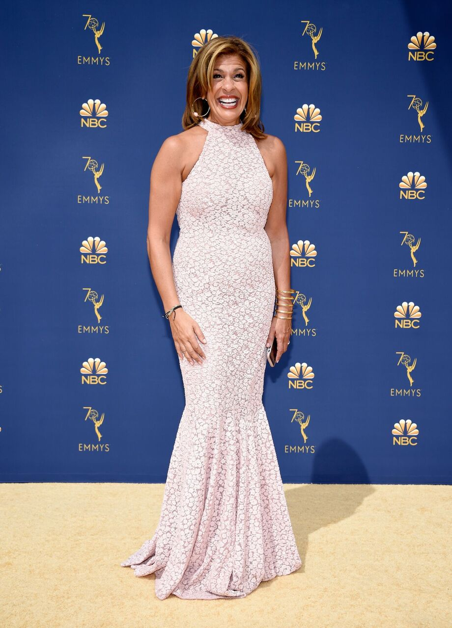 Hoda Kotb attends the 70th Emmy Awards at Microsoft Theater on September 17, 2018 | Photo: Getty Images