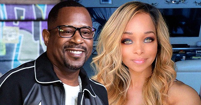 Martin Lawrence's Daughter with Pat Smith Jasmin is Already 25 & Flaunting Her Curves in Flowy Blue Outfit On IG