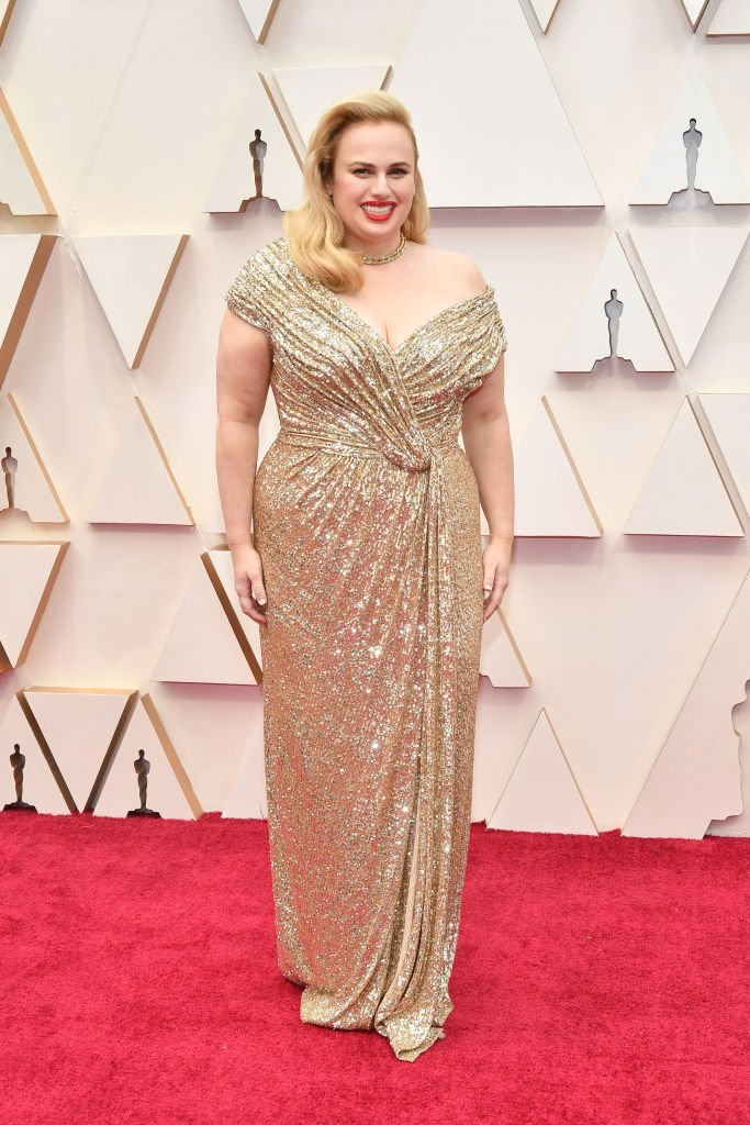 Rebel Wilson on the red carpet at the 92nd Annual Academy Awards on February 9, 2020.    Photo: Getty Images