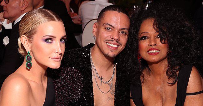 See Diana Ross & Her Daughter-In-Law Ashlee Simpson's Sweet Tributes to Evan Ross on His B-Day