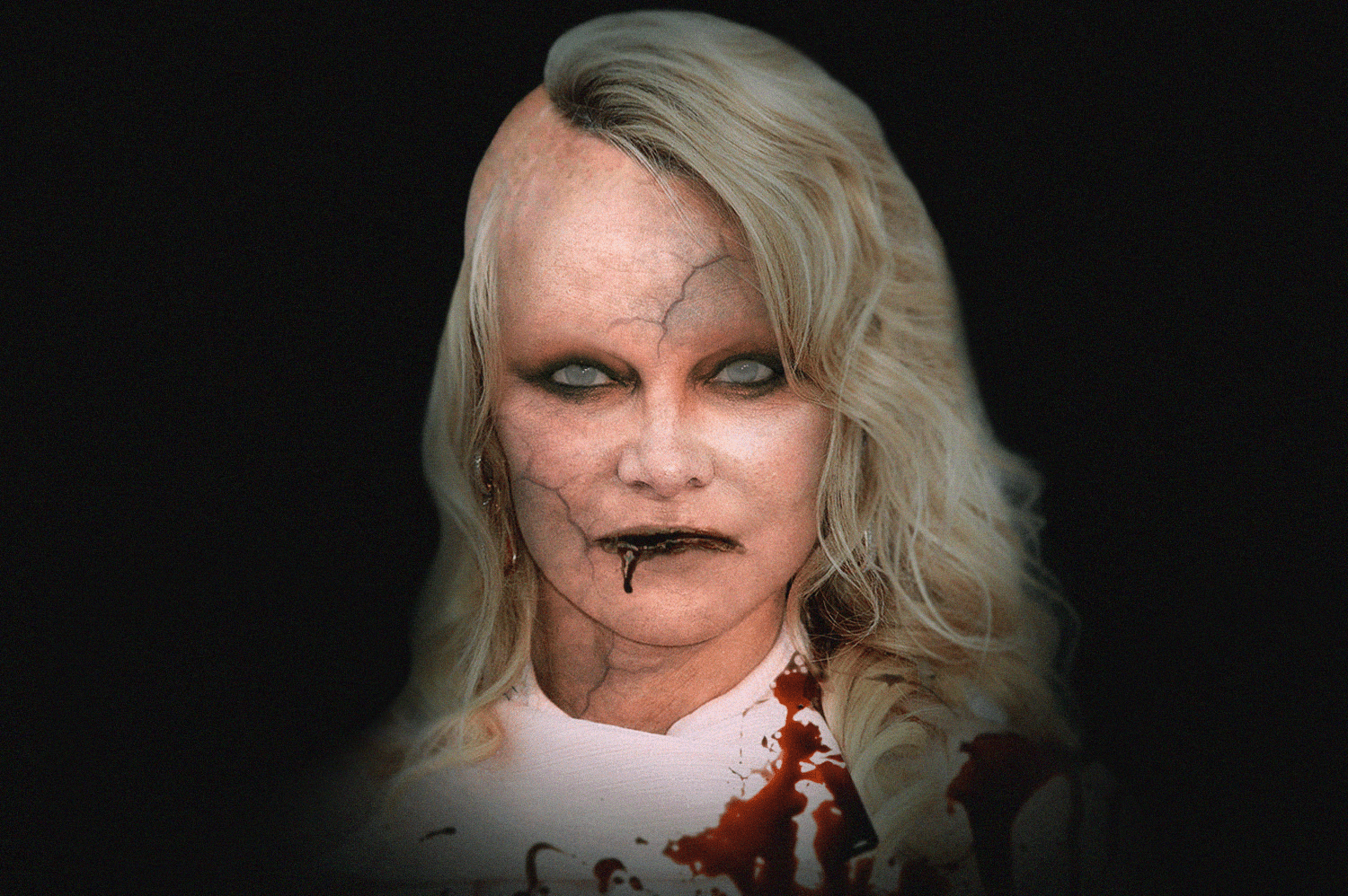 Pamela Andersen as a zombie | Source: Getty Images