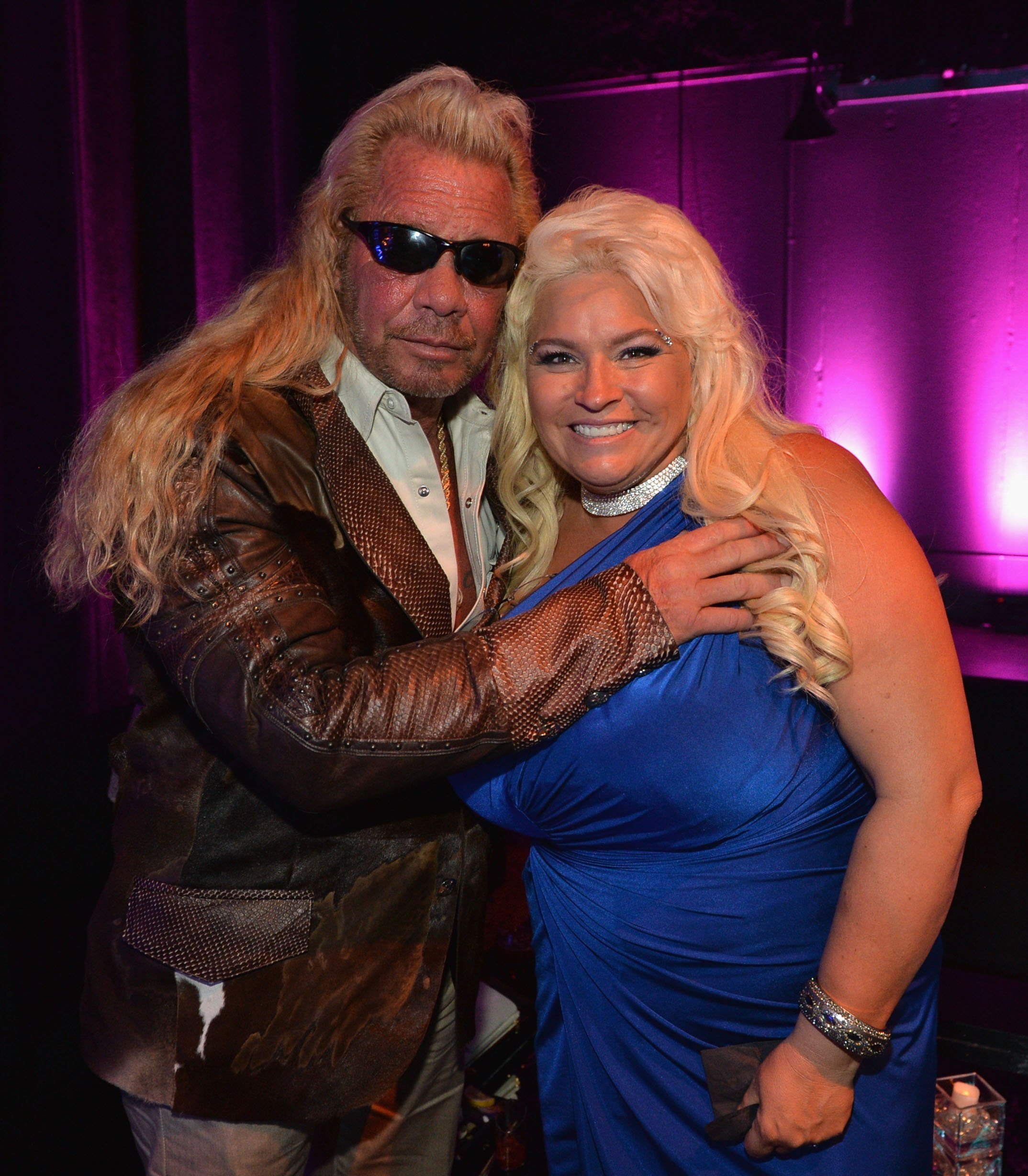 "Duane ""Dog"" Chapman and the late Beth Chapman 