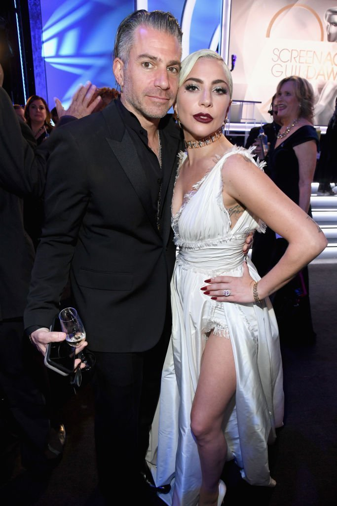 Lady Gaga and Christian Carino at the Screen Actors Guild Awards | Photo: Getty Images