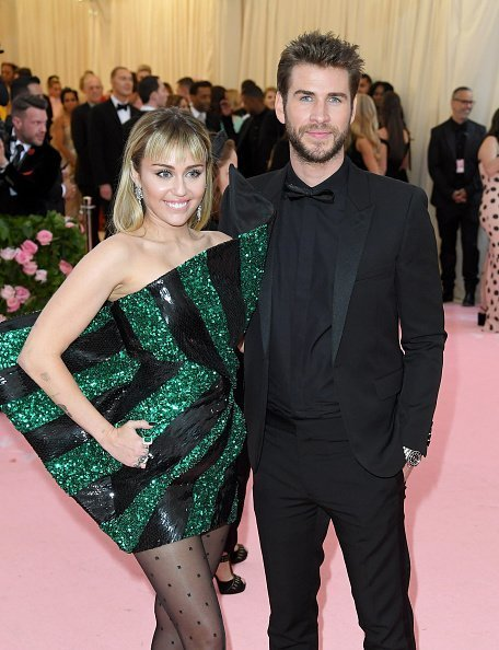 Miley Cyrus and Liam Hemsworth at The Metropolitan Museum of Art on May 06, 2019 in New York City. | Photo: Getty Images