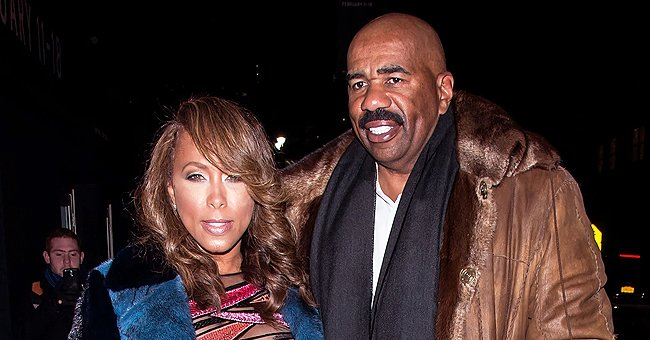 Check Out Steve Harvey's Wife Marjorie's Diving Skills as She Sports a Cool Swimsuit (Video)