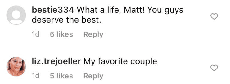 Fan's comments under a picture posted by Matt Roloff on his Instagram page | Photo: Instagram/mattroloff