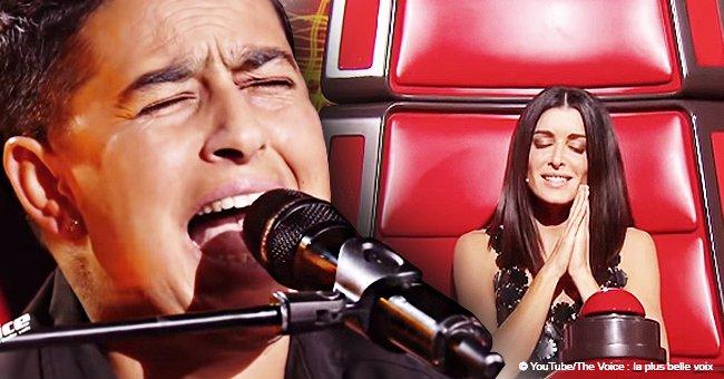 The Voice 8 : Tania, une Tzigane qui a fait pleurer Jenifer pendant l'émission