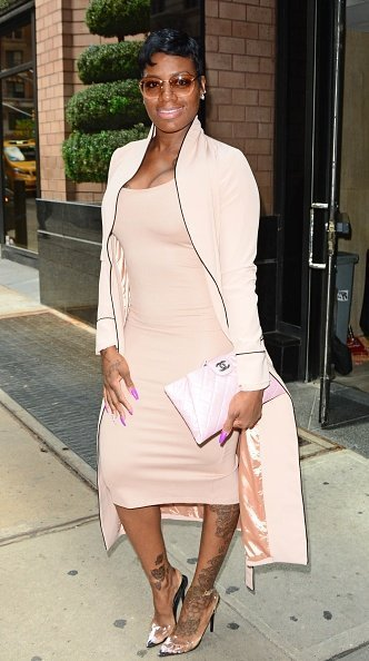 Fantasia Barrino is seen in New York City.| Photo: Getty Images.