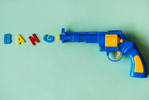 Toy gun/ Source: Pexels