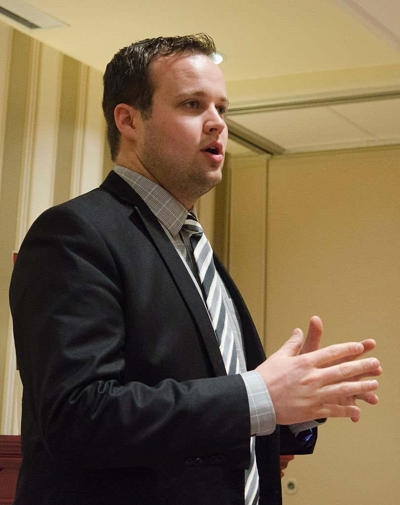 Josh Duggar speaks at the 42nd annual Conservative Political Action Conference in National Harbor, Maryland on February 28, 2015 | Photo: Getty Images