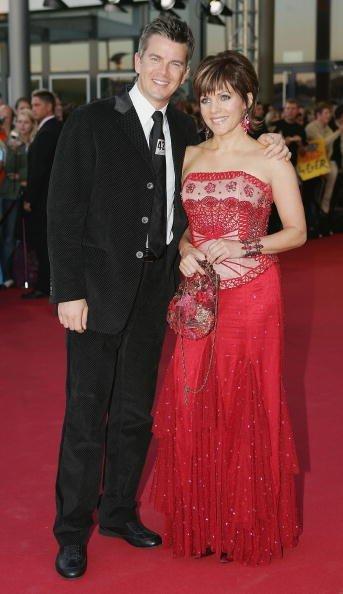 Markus Lanz und Birgit Schrowange, Deutscher Fernsehpreis, 2005 | Quelle: Getty Images