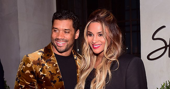 Pregnant Ciara and Her Husband Russell Wilson Share Cute High School Photos