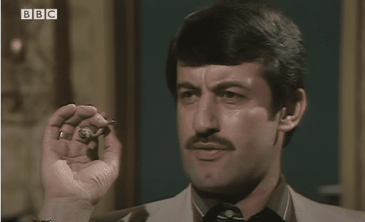 """John Challis as Boycie on """"Only Fools and Horse.""""   Photo: Youtube/BBC Comedy Greats."""