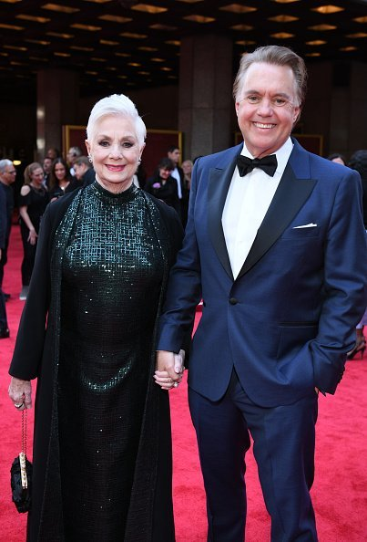 Shirley Jones and Shaun Cassidy attend the 73rd Annual Tony Awards at Radio City Music Hall on June 09, 2019, in New York City. | Source: Getty Images.