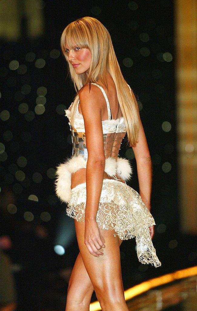 Heidi Klum, New York, USA, 2002 | Quelle: Getty images