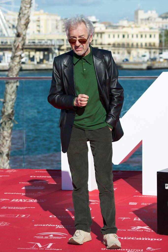 José Sacristán en el photocall de 'Formentera Lady' el 16 de abril de 2018 en Málaga, España. | Foto: Getty Images